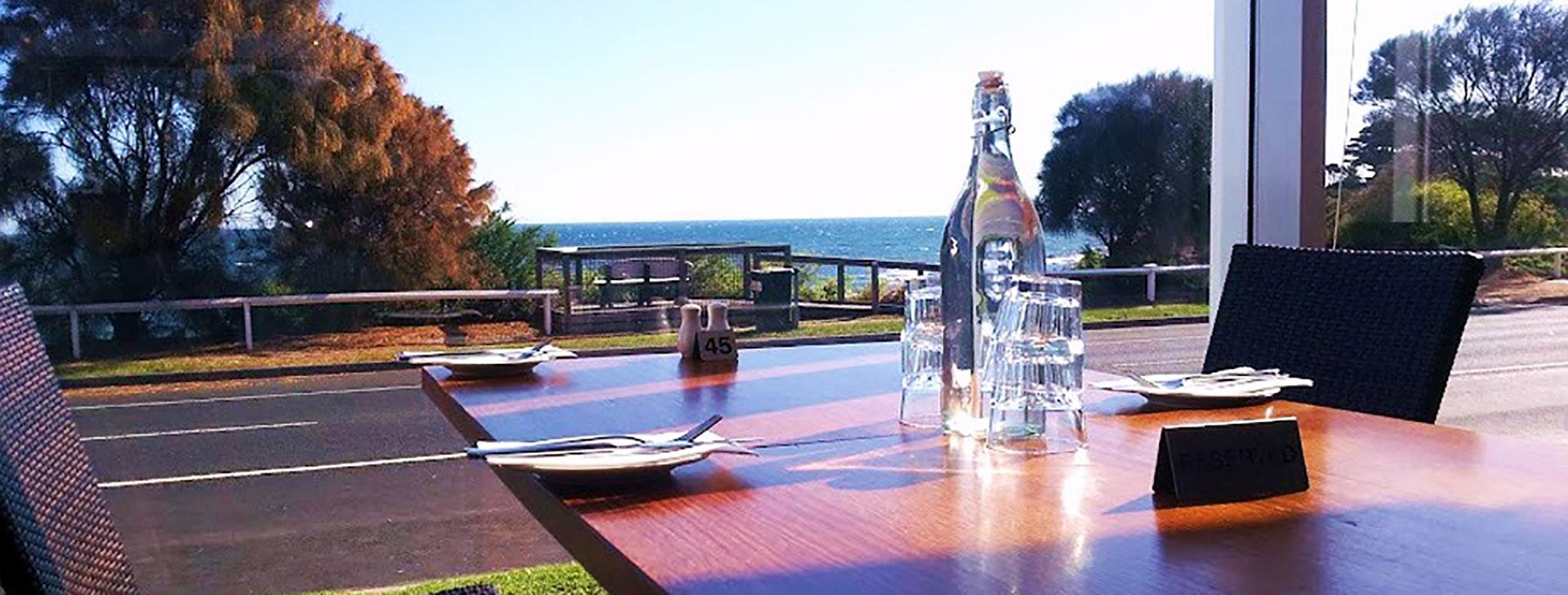 view from Kirks Hotel mornington
