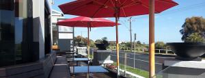outdoors at kirks hotel mornington